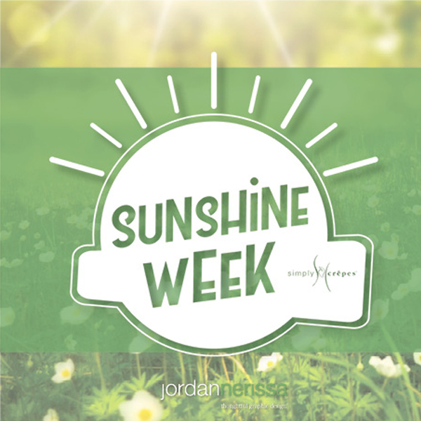simply crepes sunshine week logo
