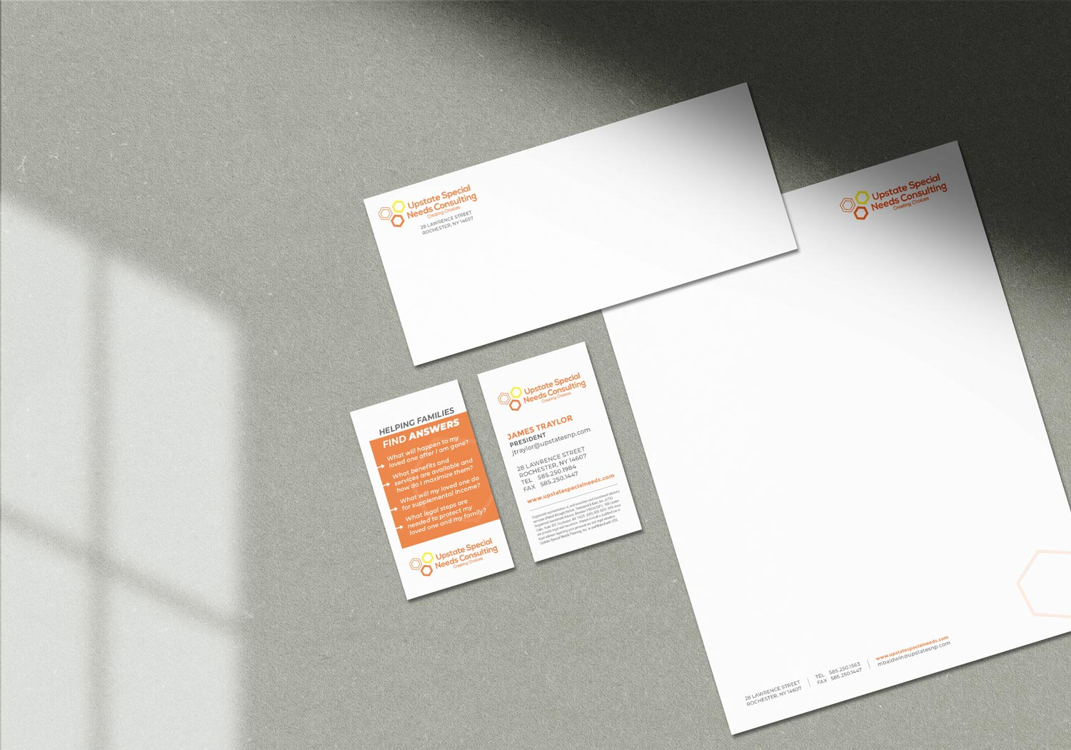Upstate Special Needs Consulting Stationery jordannerissa
