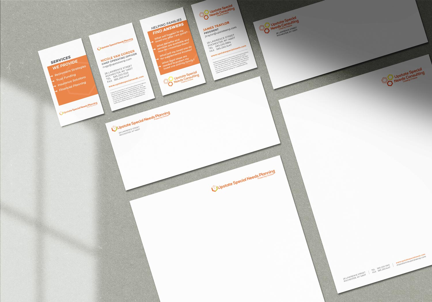 upstate special needs stationery