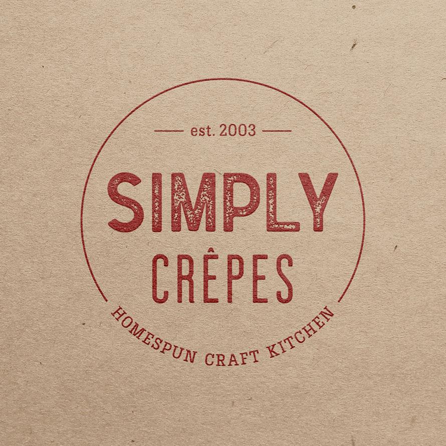 Simply Crêpes Logo & Branding